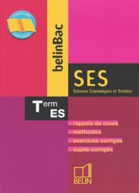 Alain Gélédan - Sciences Economiques et Sociales Terminale ES.
