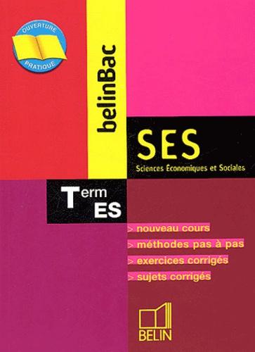 Alain Gélédan - SES Tle ES.