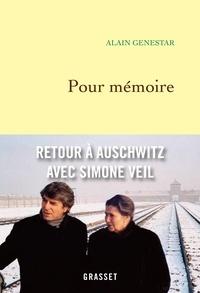 Alain Genestar - Pour mémoire.
