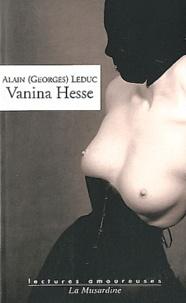 Alain (Georges) Leduc - Vanina Hesse.