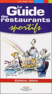Alain Gex - Le Guide des Restaurant Sportifs.