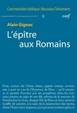 Alain Gignac - L'épître aux Romains.
