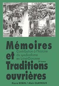 Alain Glayroux et Pierre Robin - .