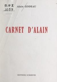 Alain Godeau et Jean Orieux - Carnet d'Alain.