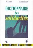 Alain Goldschmidt et Pierre Ansay - Dictionnaire des solidarités.