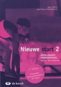 Alain Gondry et Jean-Pierre Vandenberghe - Nieuwe start 2 - Néerlandais professionnel Niveau intermédiaire.