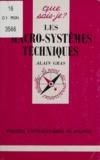 Alain Gras - Les macro-systèmes techniques.
