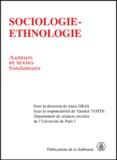 Alain Gras et Yannick Yotte - Sociologie-ethnologie - Auteurs et textes fondateurs.