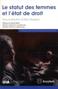 Alain Grosjean - Le statut des femmes et l'état de droit.