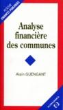 Alain Guengant - Analyse financière des communes.