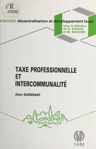 Alain Guengant - Taxe professionnelle et intercommunalité.