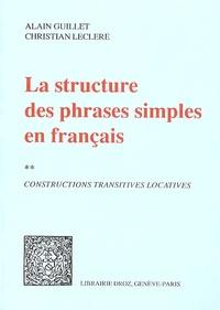 La structure des phrases simples en français - Tome 2, Constructions transitives locatives.pdf