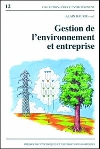Alain Haurie - Gestion de l'environnement et entreprise.
