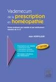 Alain Horvilleur - Vademecum de la prescription en homéopathie.