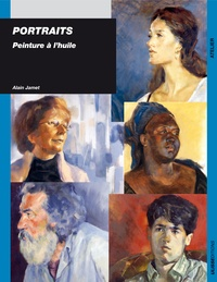 Alain Jamet - Portraits - Peinture à l'huile.