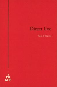 Alain Jégou - Direct live.