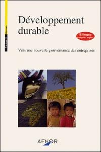 Blackclover.fr Développement durable : vers une nouvelle gouvernance des entreprises - Bilingue français-anglais Image