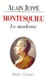 Alain Juppé - Montesquieu - Le moderne.