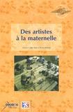 Alain Kerlan - Des artistes à la maternelle.