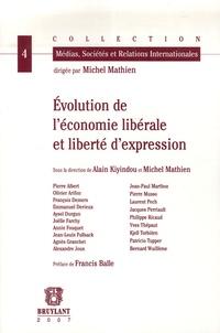 Alain Kiyindou et Michel Mathien - Evolution de l'économie libérale et liberté d'expression.