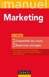 Alain Kruger et Laurent Carpentier - Mini Manuel - Marketing - 2e édition.