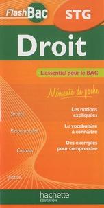 Alain Lacroux - Droit STG.