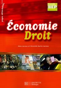 Alain Lacroux et Christelle Martin-Lacroux - Economie Droit 2e BEP.