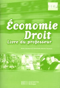 Economie Droit 2e professionnelle BEP - Livre du professeur.pdf