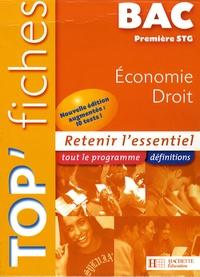 Alain Lacroux et Christelle Martin-Lacroux - Economie/Droit bac 1e STG.