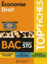 Alain Lacroux - Economie Droit BAC Tle STG. 1 Cédérom