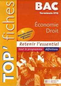 Alain Lacroux et Christelle Martin - Economie Droit Te STG.