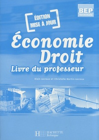 Deedr.fr Economie Droit Tle BEP - Livre du professeur Image