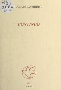 Alain Lambert - Continuo.