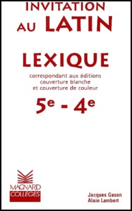 Alain Lambert et Jacques Gason - .