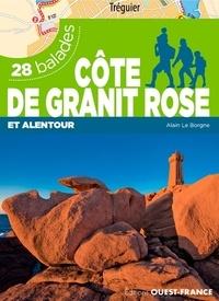 Alain Le Borgne - Côte de granit rose et alentour - 28 balades.