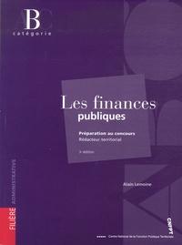 Alain Lemoine - Les finances publiques - Rédacteur territorial catégorie B.