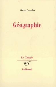 Alain Lercher - Géographie.