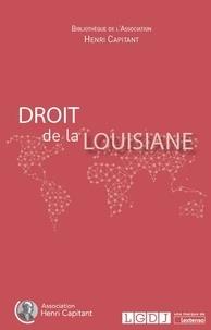 Alain Levasseur - Droit de la Louisiane.