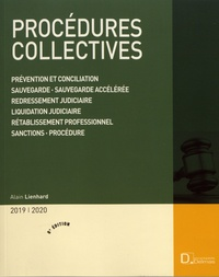 Alain Lienhard - Procédures collectives.