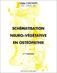 Téléchargez des livres gratuits en ligne pdf Schématisation neuro-végétative en ostéopathie par Alain Lignon PDF 9782876440036 (Litterature Francaise)