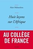 Alain Mabanckou - Huit leçons sur l'Afrique - couverture bleue.