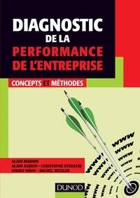 Alain Marion et Alain Asquin - Diagnostic de la performance de l'entreprise - Concepts et méthodes.