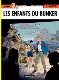 Alain Maury et Jacques Martin - Lefranc Tome 22 : Les enfants du bunker.