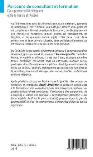 Parcours de consultant et formation. Deux praticiens RH dialoguent entre la France et l'Algérie