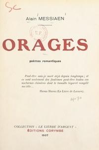 Alain Messiaen - Orages - Poèmes romantiques.