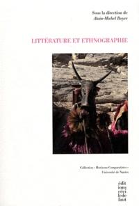 Alain-Michel Boyer - Littérature et ethnographie.