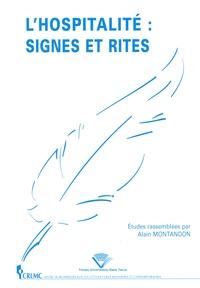 Alain Montandon - L'hospitalité : signes et rites.