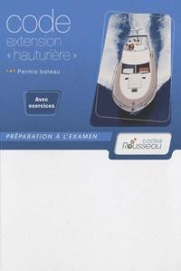 Accentsonline.fr Code extension hauturière - Permis bateau Rousseau Image