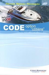 """Alain Nicoleau - Code option """"côtière"""" - Permis Bateau Rousseau."""
