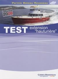 Alain Nicoleau - Test extension hauturière - Permis Bateau Rousseau.